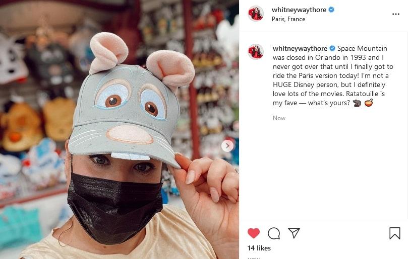 Credit: Whitney Way Thore/Instagram