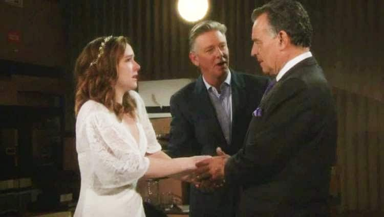 Young and the Restless Ian Ward Ray Wise - Mariah Copeland Camryn Grimes