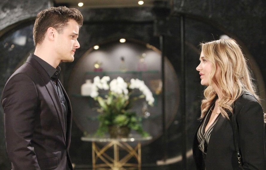 Young and the Restless Kyle Abbott Michael Mealor - Summer Newman - Hunter King