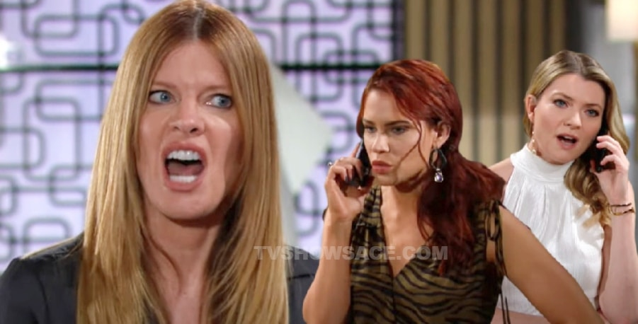 Young and the Restless - Phyllis Summers - Tara Locke - Sally Spectra