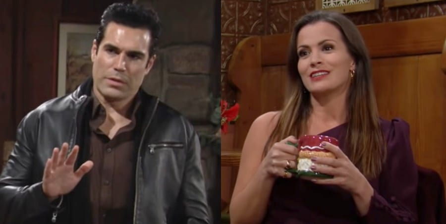 Young and the Restless - Rey RosalesJordi Vilasuso - Chelsea Lawson - Melissa Claire Egan