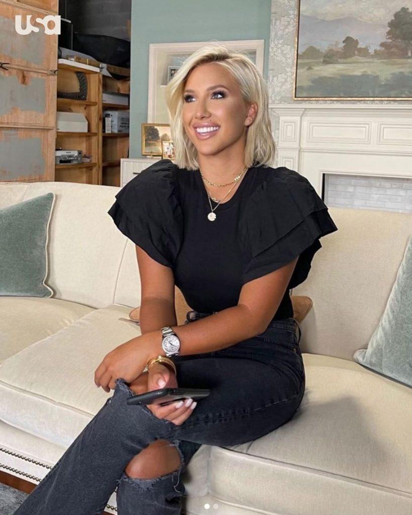 Chrisley Knows Best Savannah Chrisley smile