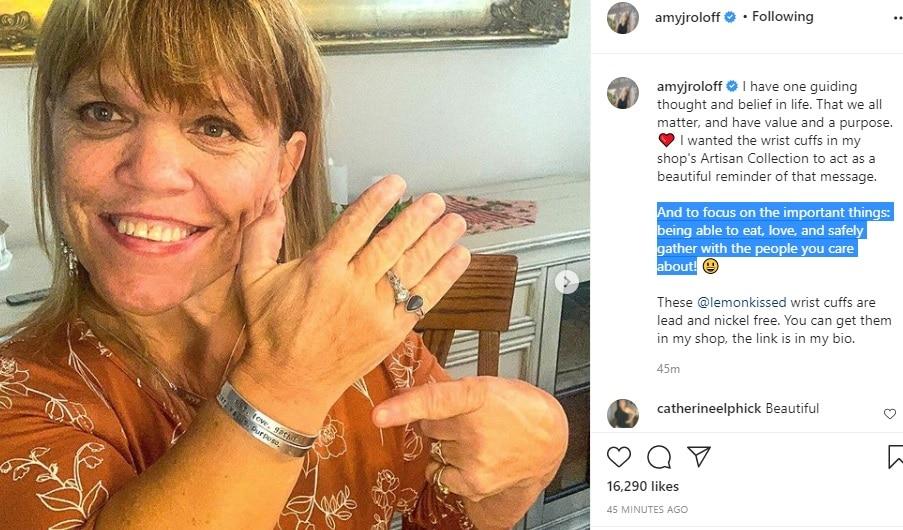 Amy Roloff LPBW Instagram