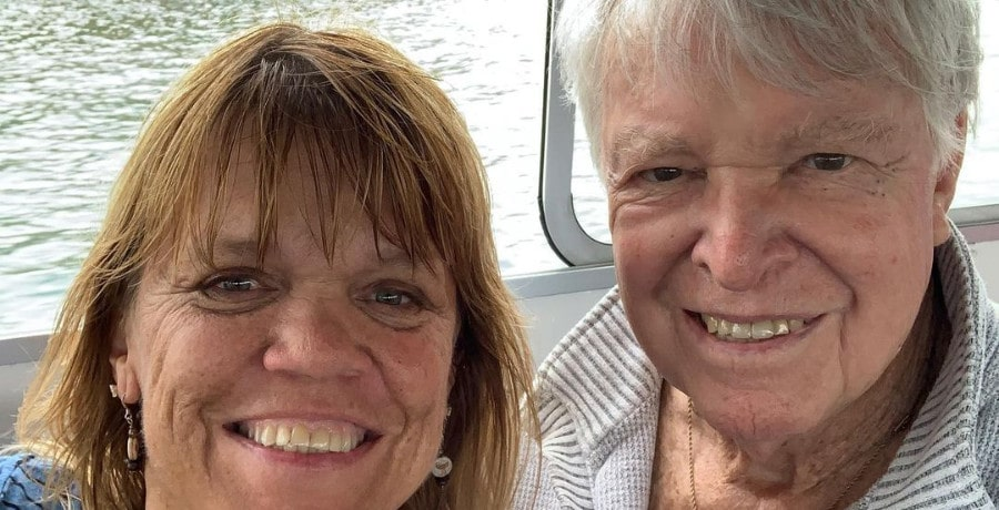 Amy Roloff and father/instagram