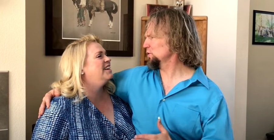 'Sister Wives' stars Janelle and Kody Brown via YouTube