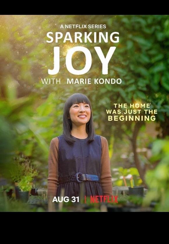 Marie Kondo Netflix Sparking Joy