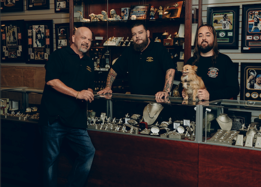 Pawn Stars, History, used with permission AE Press site