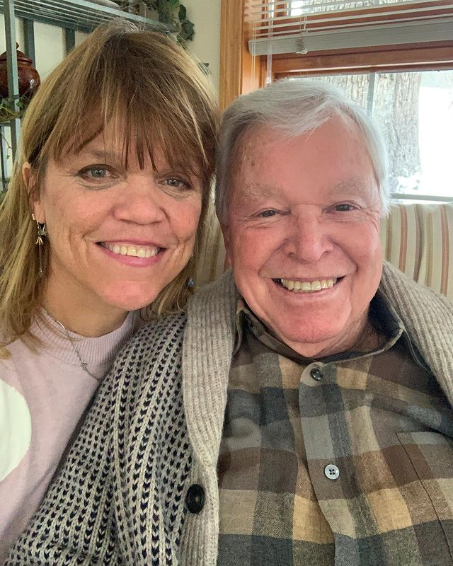 Amy Roloff and her father via Instagram
