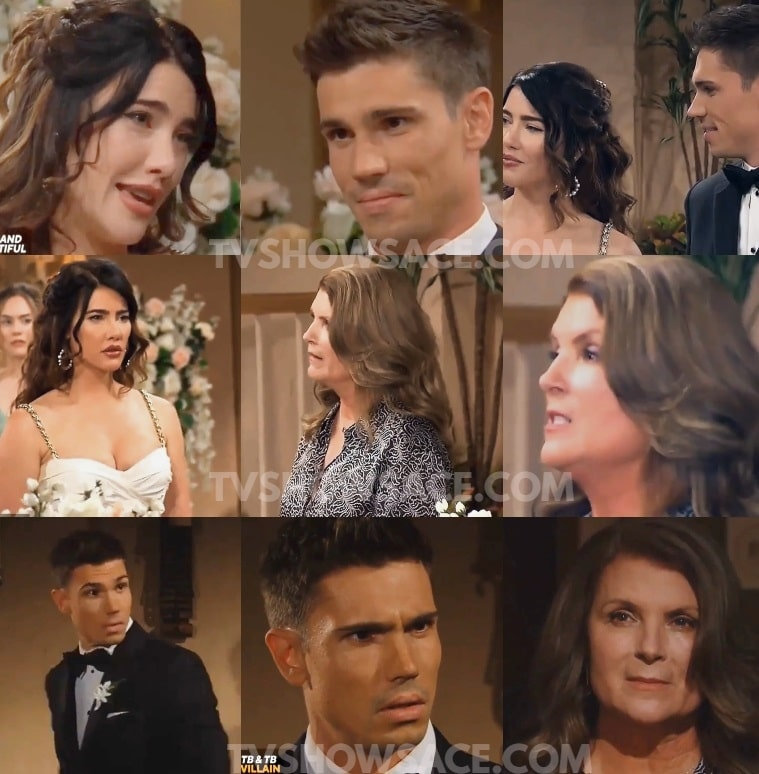 Bold and the Beautiful Finn and Steffy Wedding