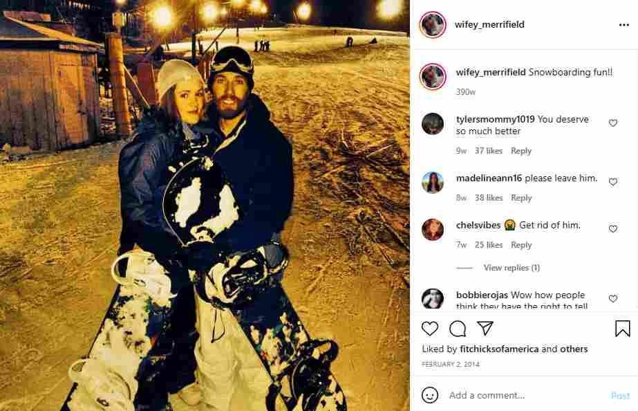 Seeking Sister Wife fans support Dannielle Merrifield