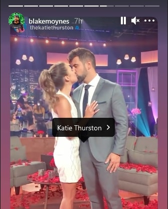 Katie Thurston/Blake Moynes/Credit: Blake Moynes/Instagram
