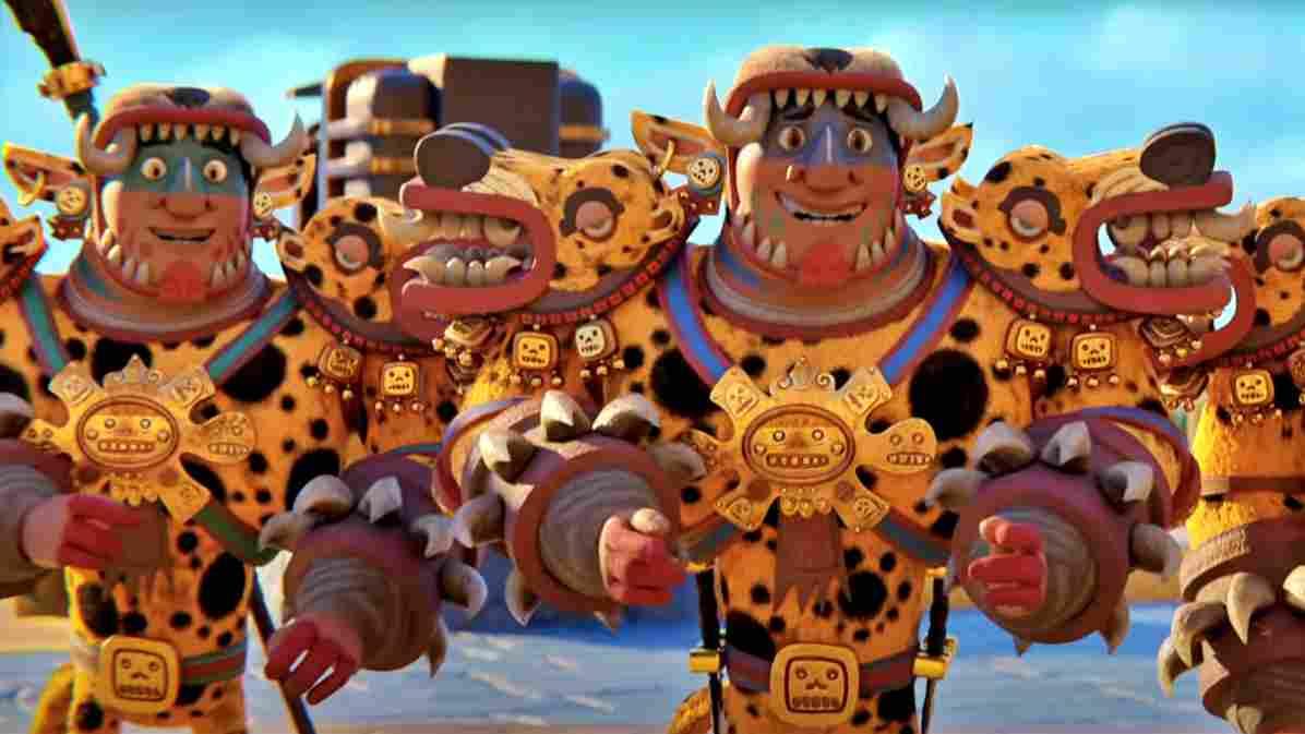 Netflix animated miniseries Maya and the Three