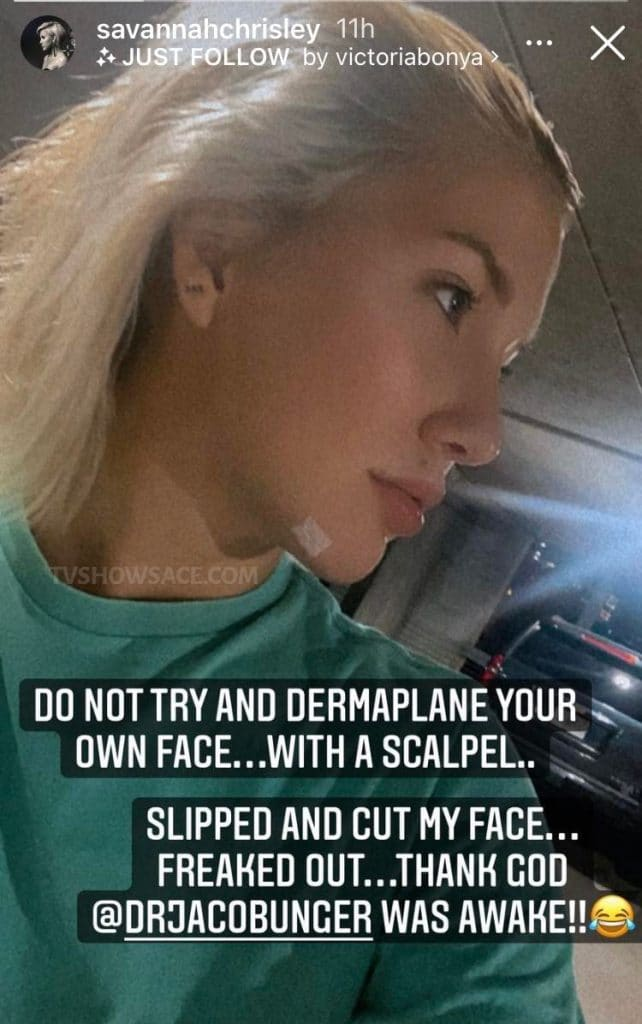 Savannah Chrisley Instagram