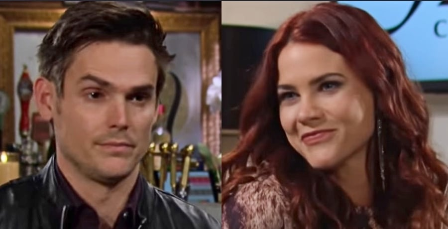 Young and the Restless Adam Newman Mark Grossman - Sally Spectra Courtney Hope