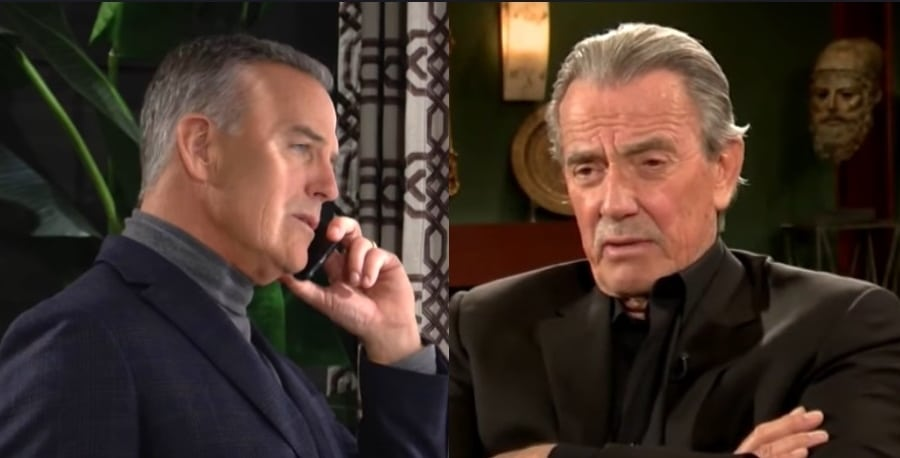 Young and the Restless Ashland Locke -Richard Burgi - Victor Newman Eric Braeden