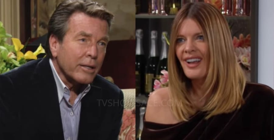 Young and the Restless - Jack Abbott Peter Bergman - Phyllis summers Michelle Stafford