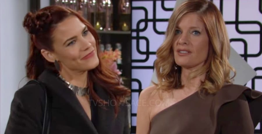Young and the Restless Sally Spectra Courtney Hope - Phyllis Summers Michelle Stafford