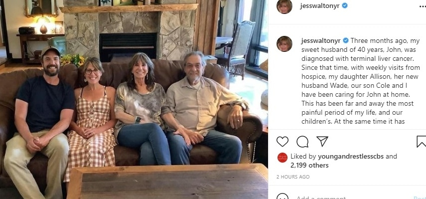 Young and the Restless Jess Walton Instagram