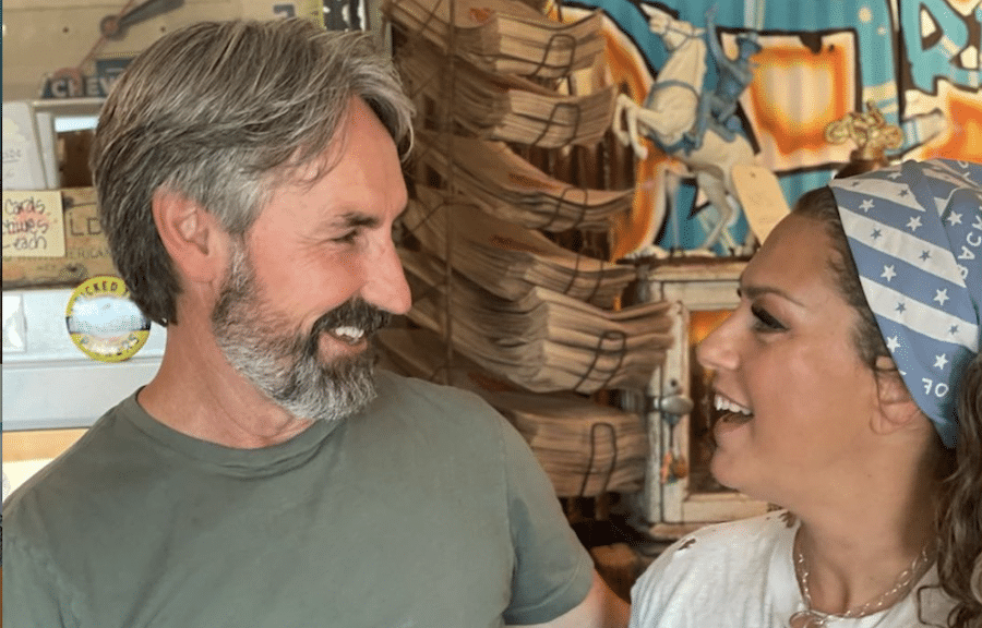 American Pickers, Mike Wolfe, Danielle, https://www.instagram.com/p/CSPry3Aremh/