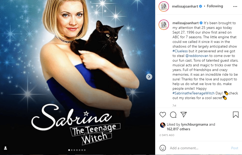 Melissa Joan Hart Instagram