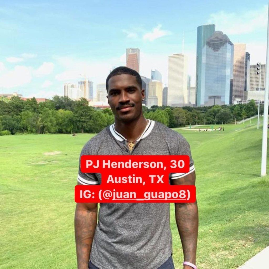 PJ Henderson courtesy Reality Steve Instagram