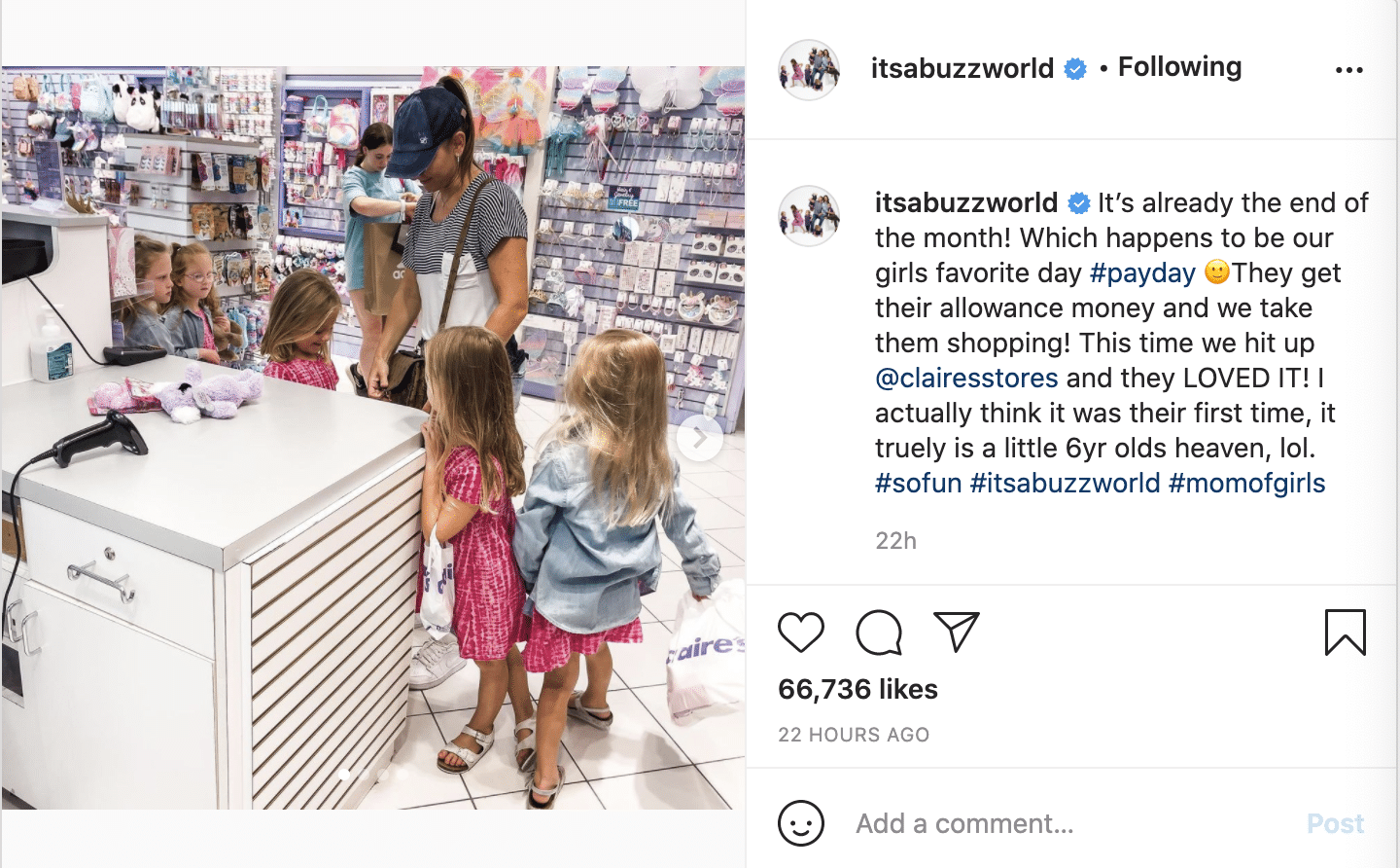 OutDaughtered Danielle Busby allowance Claire's