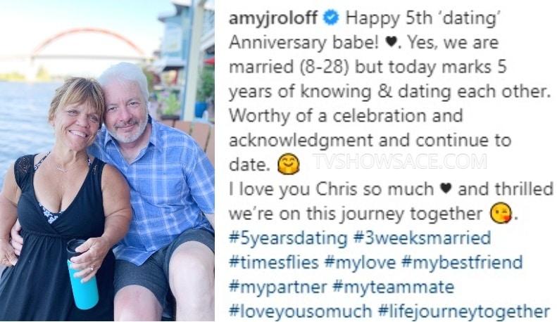 Amy Roloff - Chris Marek Instagram