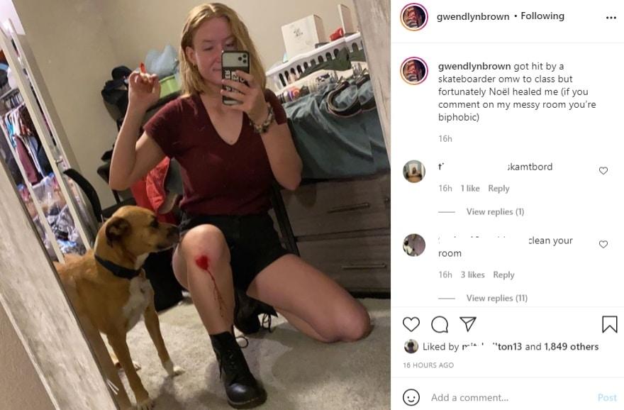 Gwendlyn Brown Instagram