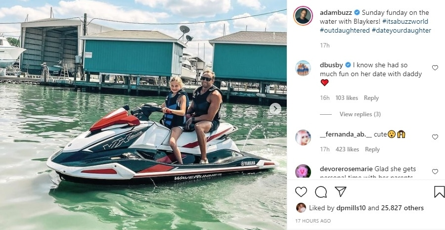 outdaughtered - Adam Busby -- Blayke Busby Instagram