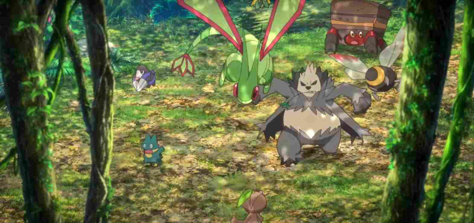 Pokémon the Movie: Secrets of the Jungle is coming to Netflix