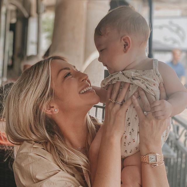 Stassi Schroeder and daughter Hartford via Instagram