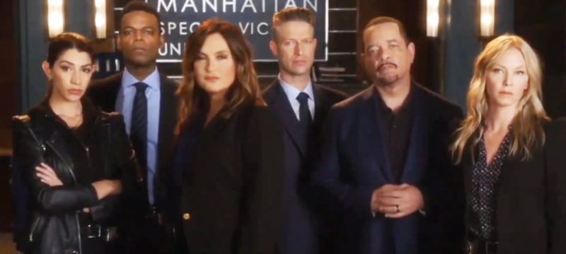 Law and Order: SVU cast/YouTube