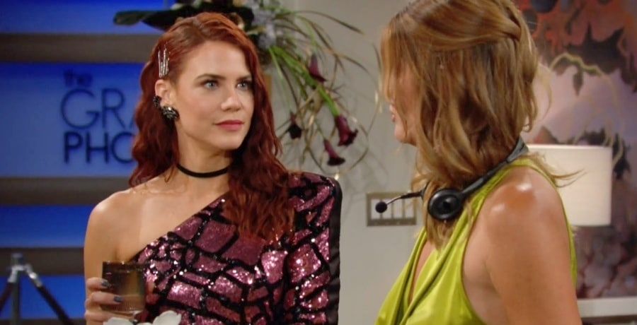 Young and the Restless - sally Spectra Courtney Hope - Phyllis Summers - Michelle Stafford