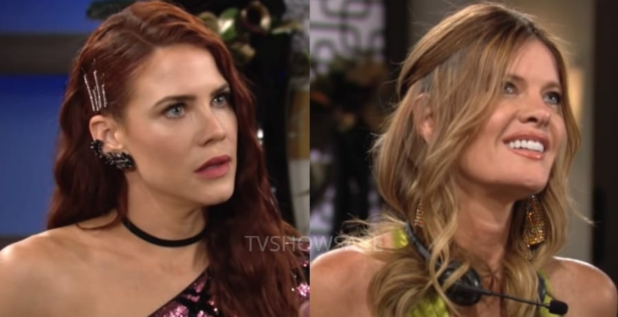 Young and the Restless Sally Spectra - Courtney Hope - Phyllis Summers - Michelle stafford