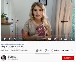 Chad & Erin Paine YouTube