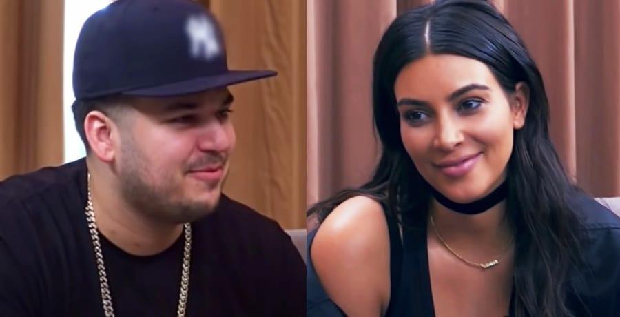 KUWK Rob and Kim Kardashian Youtube