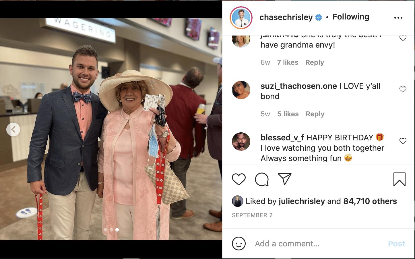 Chrisley Knows Best Chase Chrisley, Nanny Faye Chrisley