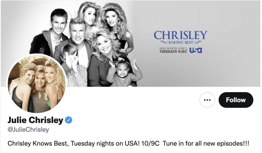 Chrisley Knows Best new time Julie Chrisley