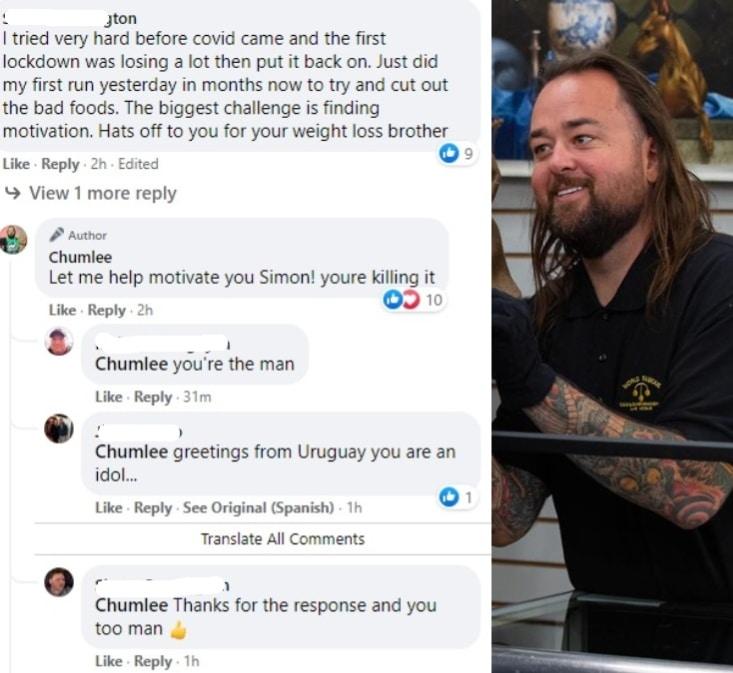 Chumlee Pawnstars Facebook Q&A