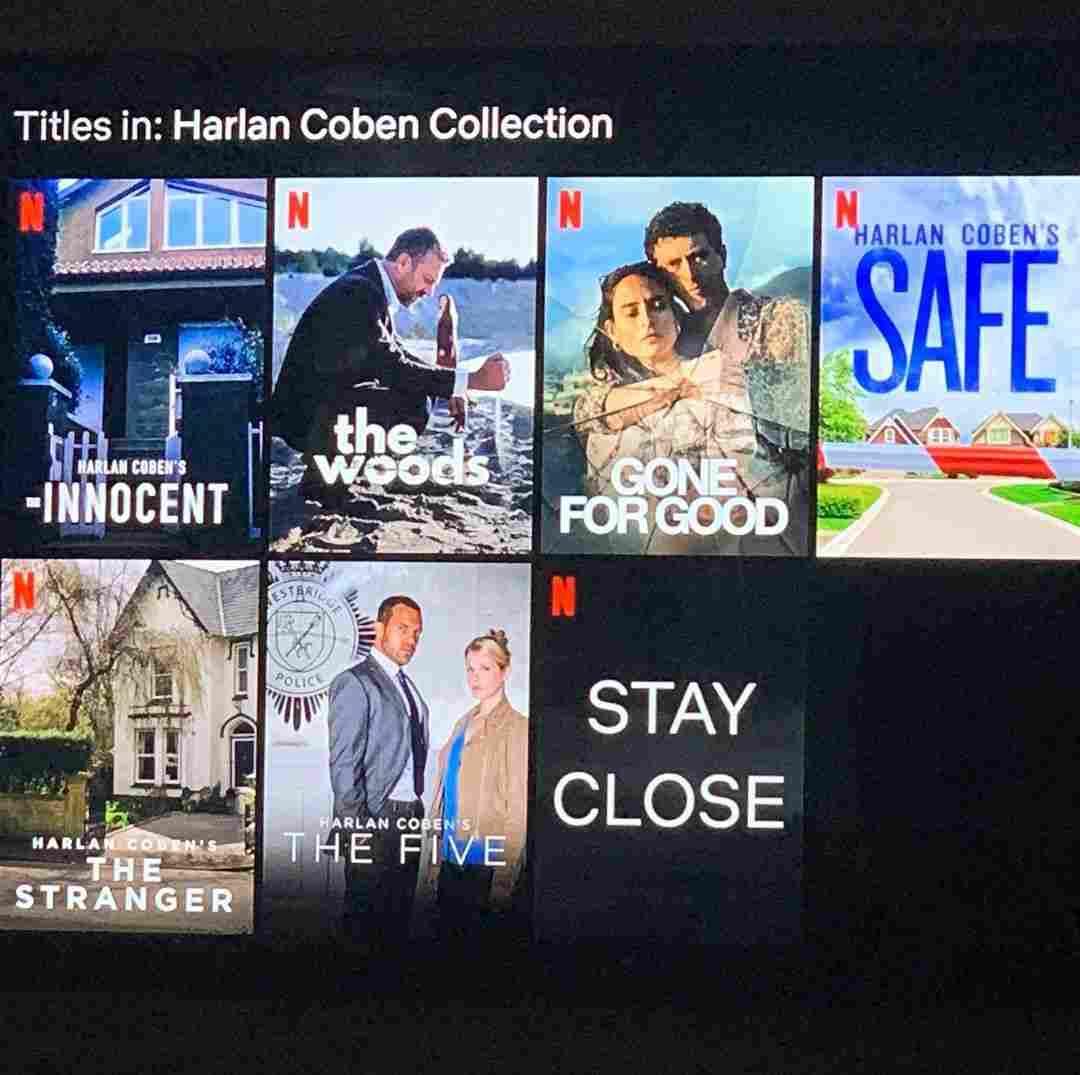 Netflix releasing series of Harlan Coben's Stay Close