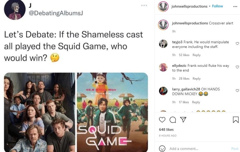 John Wells Productions Instagram