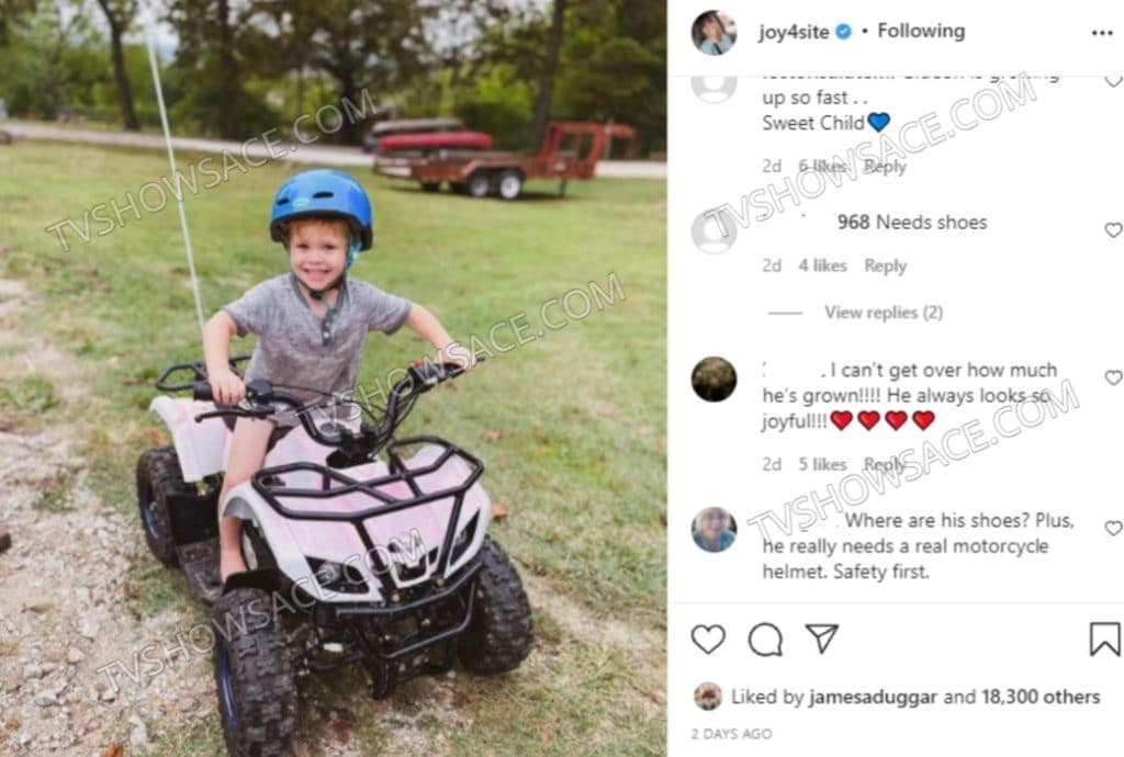 Joyanna Duggar Forsyth Instagram