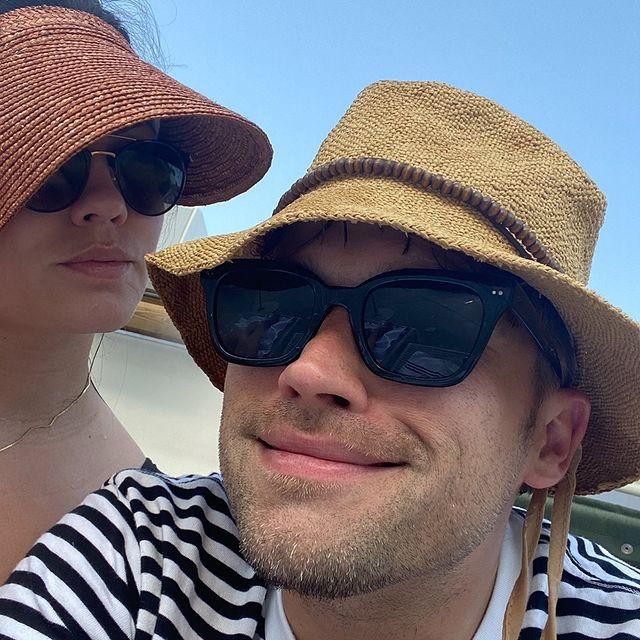 Katie and tom Schwartz via Instagram