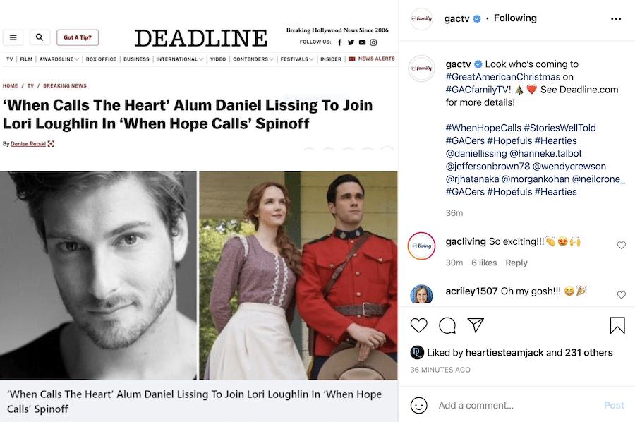 Daniel Lissing, https://www.instagram.com/p/CUm9C0hL2m9/